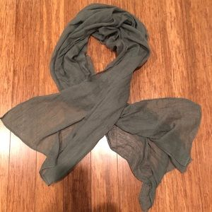 Accessories - Green light scarf
